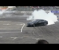 Drifting TESLA Model S