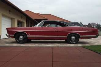 1967 Ford galaxie fastback
