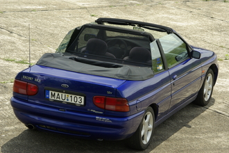 Ford Escort Cabrio XR3i 1.8 16v