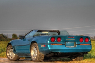 1988 Chevrolet Corvette Convertible Z52