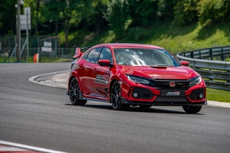 Jenson Button, Civic Type R, Hungaroring, új rekord